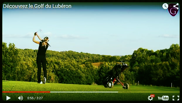 "Short Video about the Course of ""Golf Du Luberon"" in Pierrevert - Vacances Provence"
