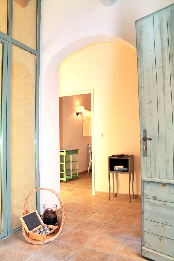 Entrée zur Ferien-Villa - Vacances Provence