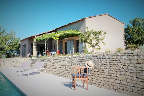 """Großzügige Ferien-Villa """"Ciel Du Luberon"""" in Bonnieux - Vacances Provence"""