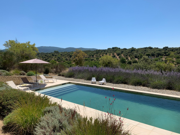 Luberon View from Villa
