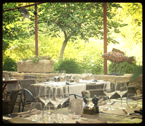 Auberge des Carrières - lovely restaurant in Provence