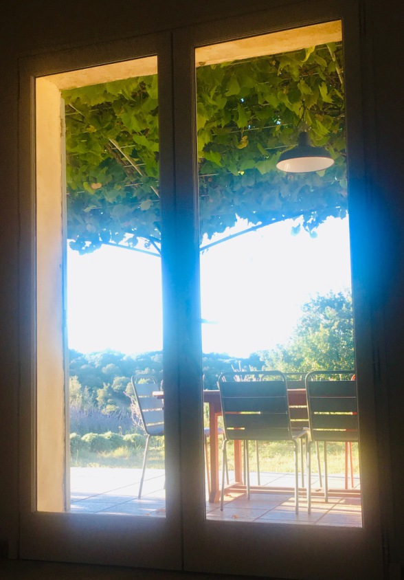 Just relax - and have a view to the Luberon