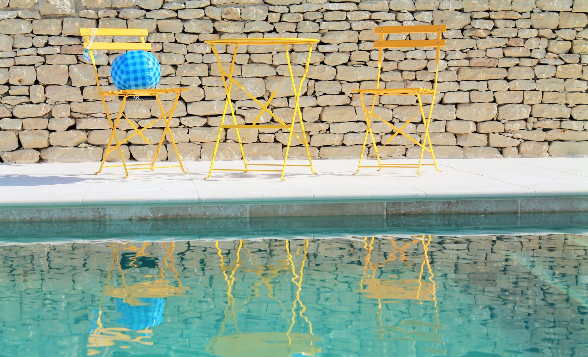 Swimming Pool was finished in 2016 with a size of 4x11 meters.