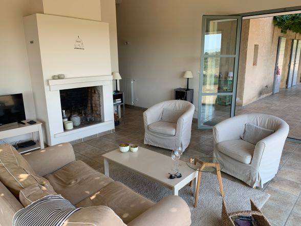 Ciel Du Luberon Living Room